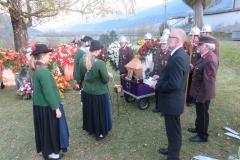 Am 31.10. begleiteten wir unser Ehrenmitglied Heinrich Köll auf seinem letzten Weg.