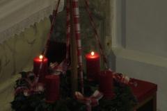 Die Messe am 9.12. wurde von einer kleinen Gruppe musikalisch umrahmt