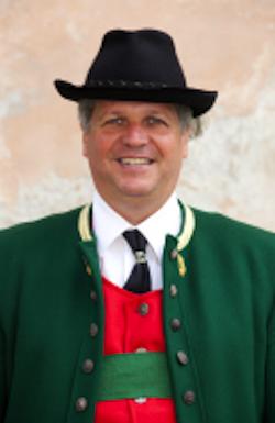 Herbert Zangerl Kapellmeister Musikkapelle Pettnau